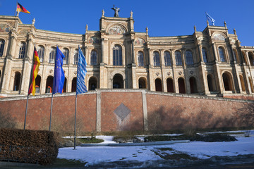Bavarian Parliament in Munich, Germany