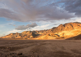 Sunset in Death Valley National Park Nevada, USA