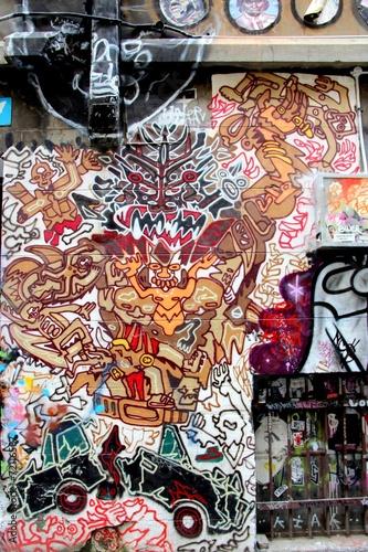 L.A street, Melbourne © aure50