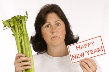 New Year's Dieting Excitement