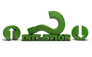 Inflation rate rising or falling