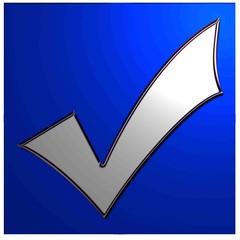 bouton case à cocher bleue1
