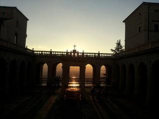 Montecassino tramonto