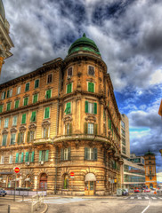 A building in Rijeka city center - Croatia