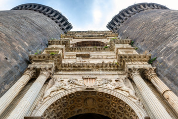 Triumphal arch of the Castel Nuovo in Naples