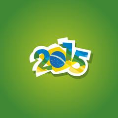 Brazil 2015 vector