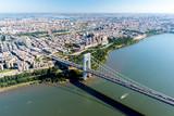 Aerial View of George Washington Bridge, New York/New Jersey - 72119356