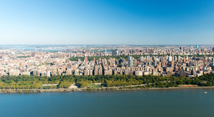 Aerial View of Manhattan, New York