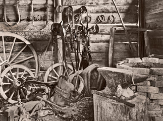 old blacksmith