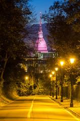 Turin (Torino), Mole Antonelliana at night
