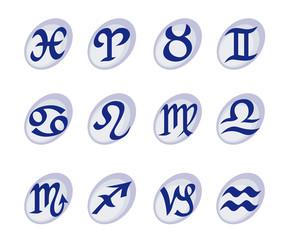 Horoscope signs and symbols