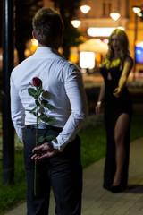 Secret rose for a woman