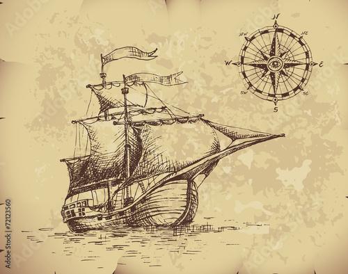 Zdjęcia na płótnie, fototapety, obrazy : Sailboat