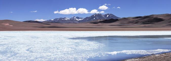 Blue lagoon (Laguna Azul), volcano Pissis, Catamarca, Argentina
