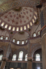 View dome of Sultan Ahmed Mosque