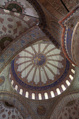 View main dome of Sultan Ahmed Mosque