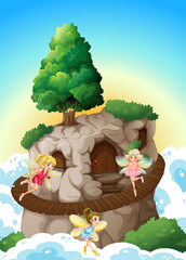 Fairies and cave