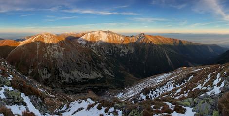 Autumn Tatras panorama, Slovakia