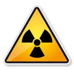 Radiation sign - Danger radiation