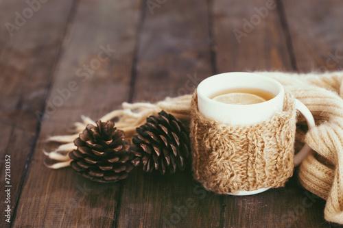 Foto op Plexiglas Thee Cup of tea