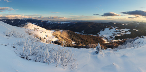 Slovakia ski resort at winter - Donovaly