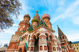 Fototapeta Saint Basil's Cathedral in Moscow. Russia