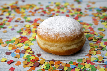 Jelly Donut and Confetti