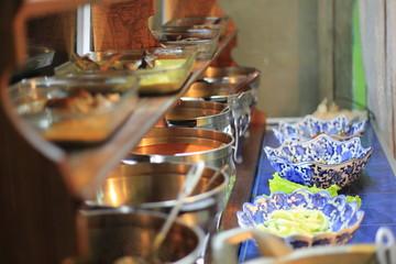 Indonesian traditional restaurant, Sumatra, Padang