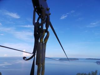 Longest zip line in Asia