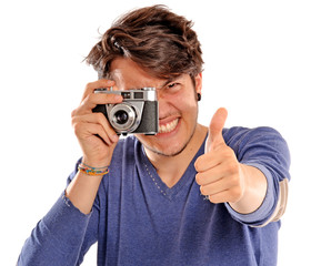 El fotógrafo feliz.