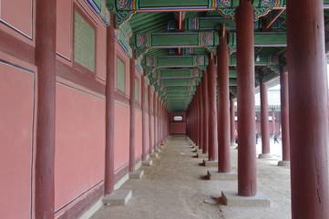 한국의 전통건축-기둥과 천장