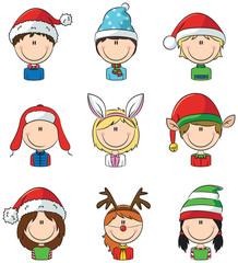 Cristmas children avatars