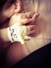 dłoń dziecka