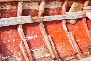membrures  de barque traditionnelle rodriguaise