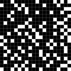 Black and white squares. Raster.