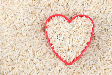I love brown rice