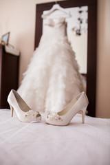 vestido boda yzapatos