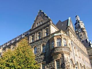 Historische Rathaus von REMSCHEID ( Berg. Land )