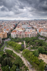 Barcelona Cityscape from Above