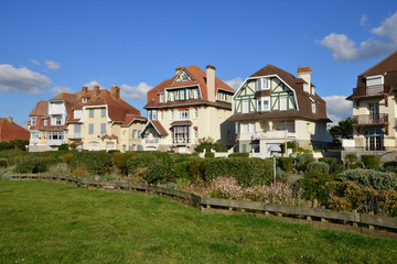 France, the picturesque city of Neufchatel Hardelot