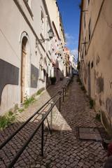 Uphill in Lisbon