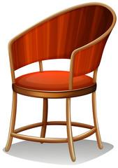 A brown chair furniture