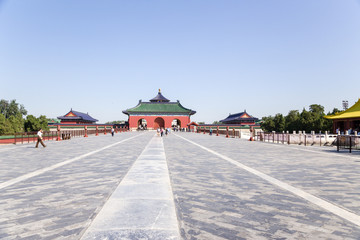 Beijing.  Vermilion Steps Bridge. Temple of Heaven (Tiantan) - 2