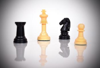 White Chess Kings