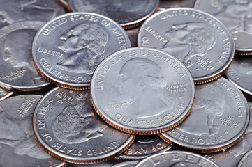 US cent coins