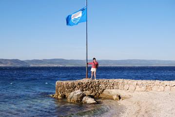 Croatian beach