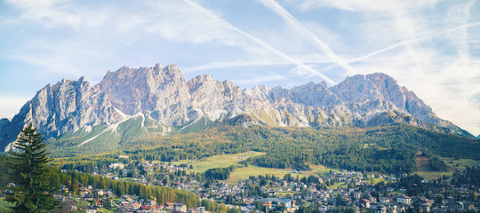 Cortina Südtirol - Panorama View