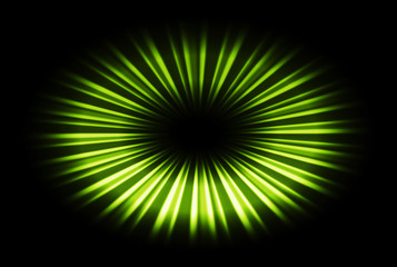Green blast abstract pattern