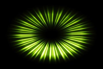 Green blast abstract pattern