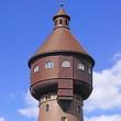 Wasserturm in HEIDE ( Schleswig-Holstein )